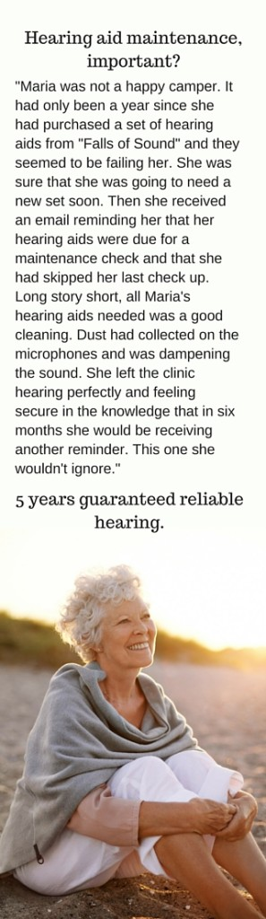 Maria 5 years guaranteed hearing