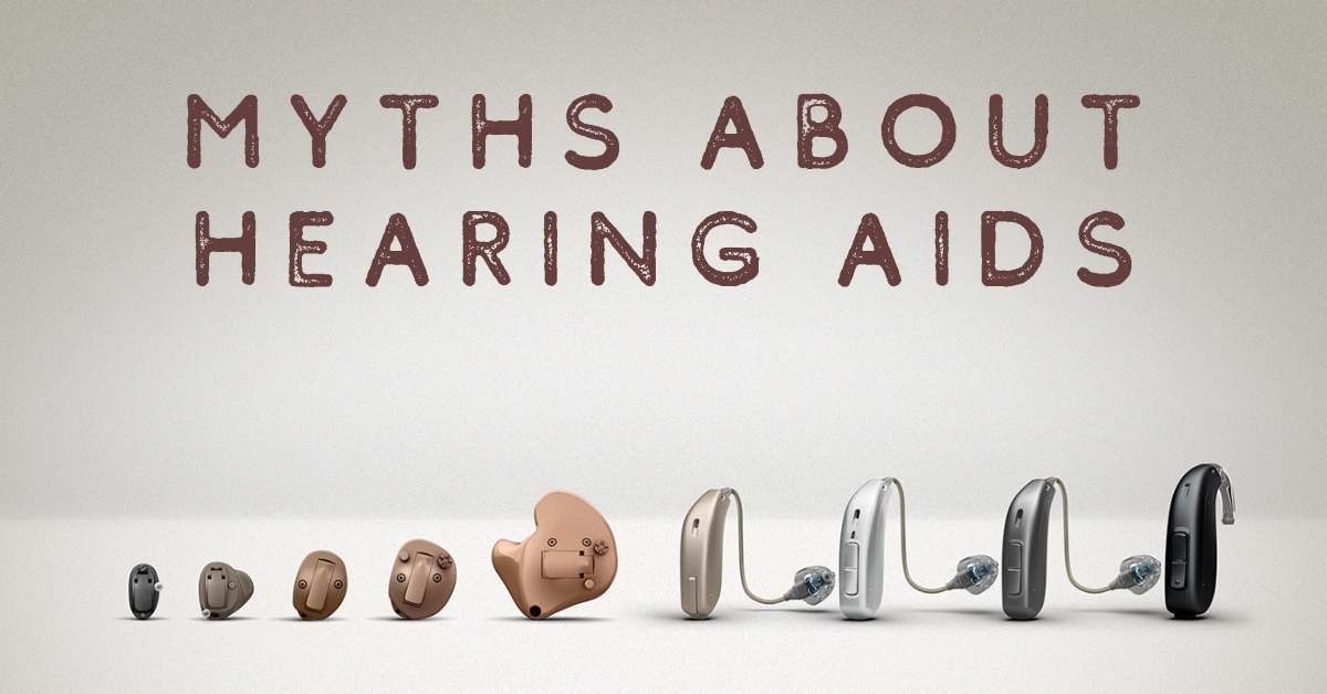 The most important myths about hearing aids