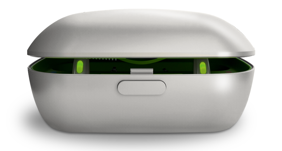 Phonak Rechargeable hearing aid.