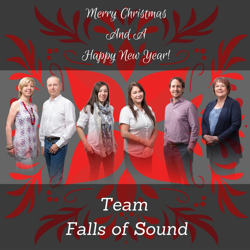 Team Falls of Sound Merry Christmas