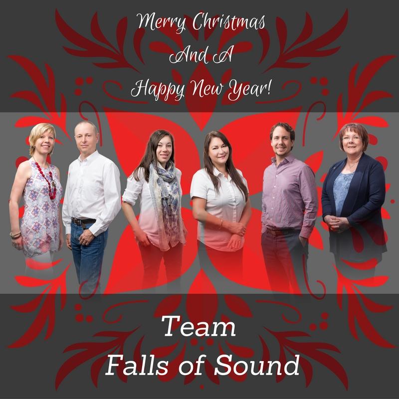 Team Falls of Sound Merry Christmas