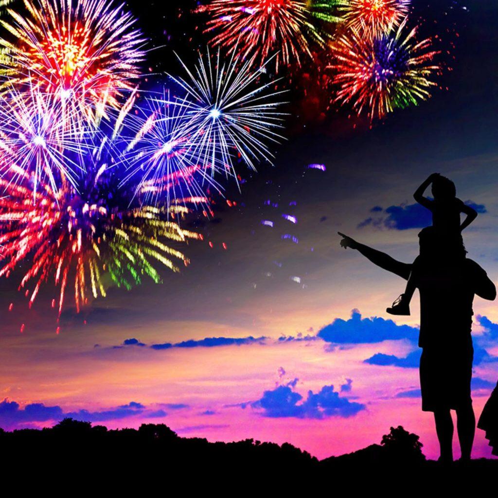 Fireworks New Year