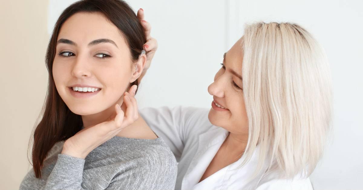 Reprogram hearing aids