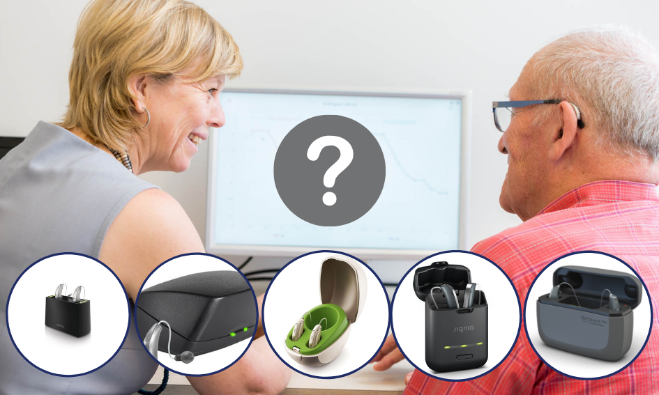 Rechargeable hearing aids how to compare.